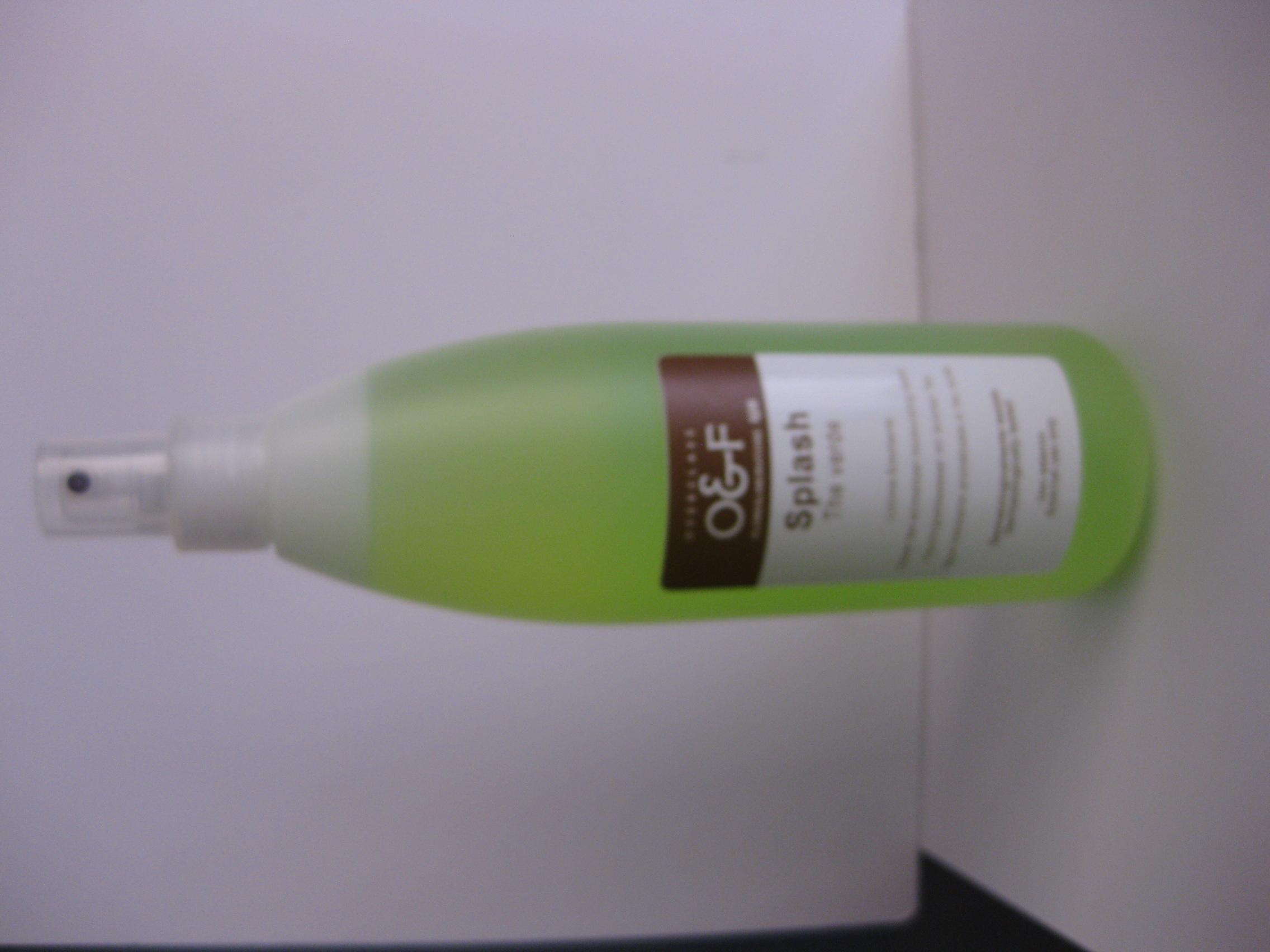 Bodysplash Grüntee 400 ml
