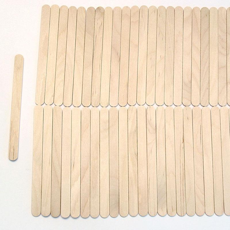 Holzspatel Gesicht 11 cm à 100 Stk.