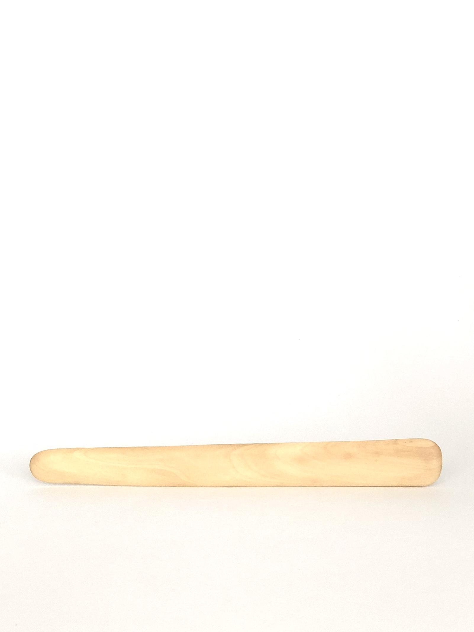Holzspatel Gesicht versiegelt (1 Stk.)