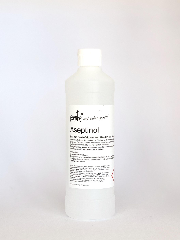 Desinfektionsmittel Aseptinol für Hände und Flächen 500ml