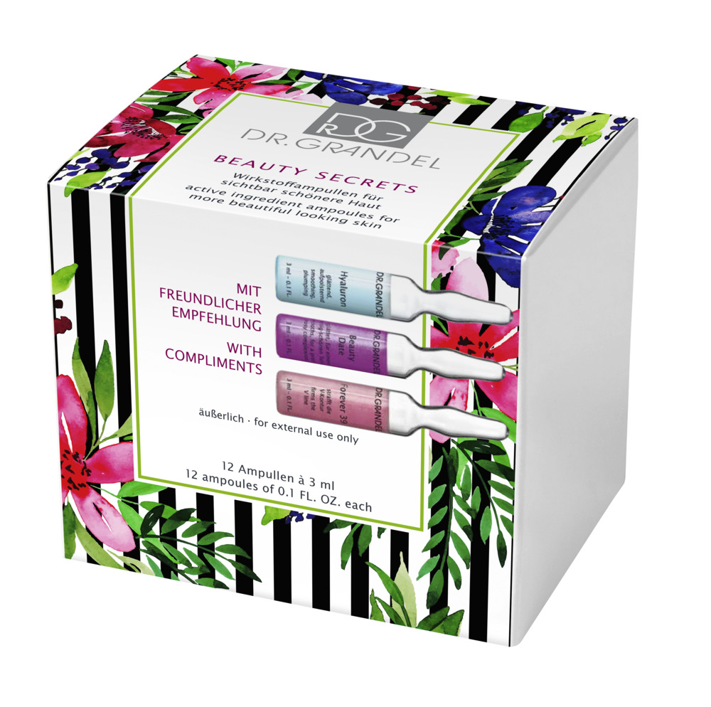 Beauty Secrets Ampullen 12 x 3 ml assortiert